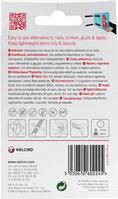 Velcro Hook & Loop Tape: Stick-On: 50cm x 20mm: White - V60224